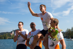SLO, Rowing - Slovenian National Championship and farewell of Iztok Cop at lake Bled