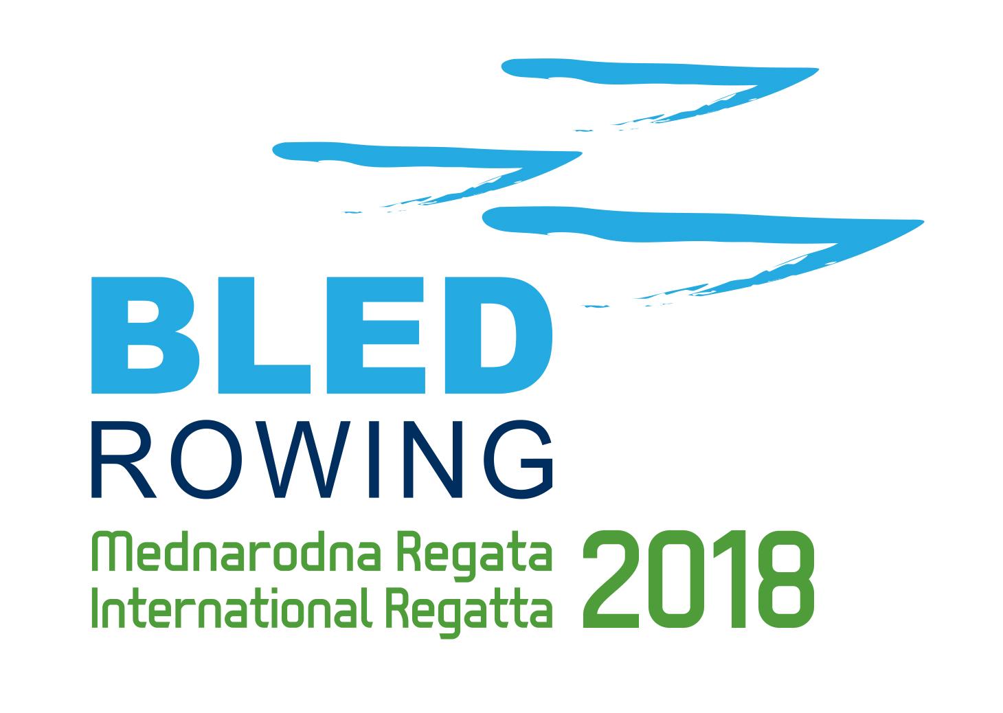 Logo Bled Rowing International Regatta 2018_boats