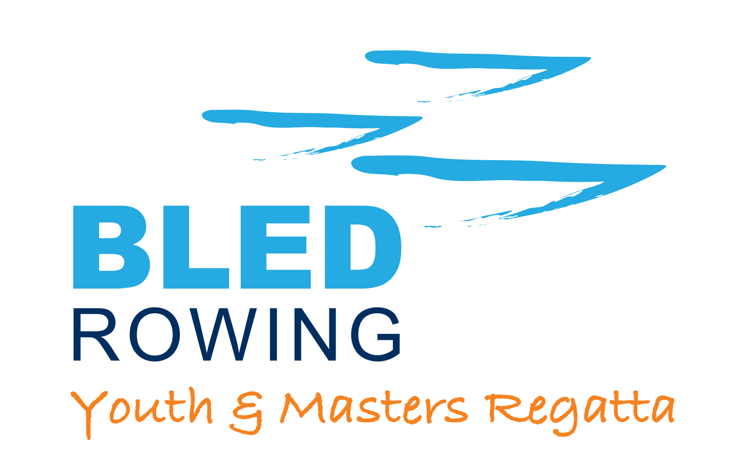 Logo Bled Rowing Youth & Masters Regatta_boats