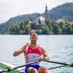 Olympic silver medalist Damir Martin CRO M1x