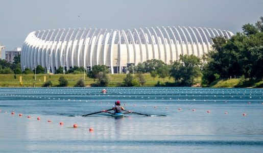Prva tekma svetovnega pokala Zagreb 2021 – Šest slovenskih čolnov na Jarunu
