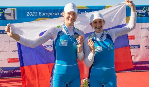 Na mladinskem EP v Münchnu srebro za Jano Dremelj in Ruby Čop ter lep ekipni uspeh reprezentance